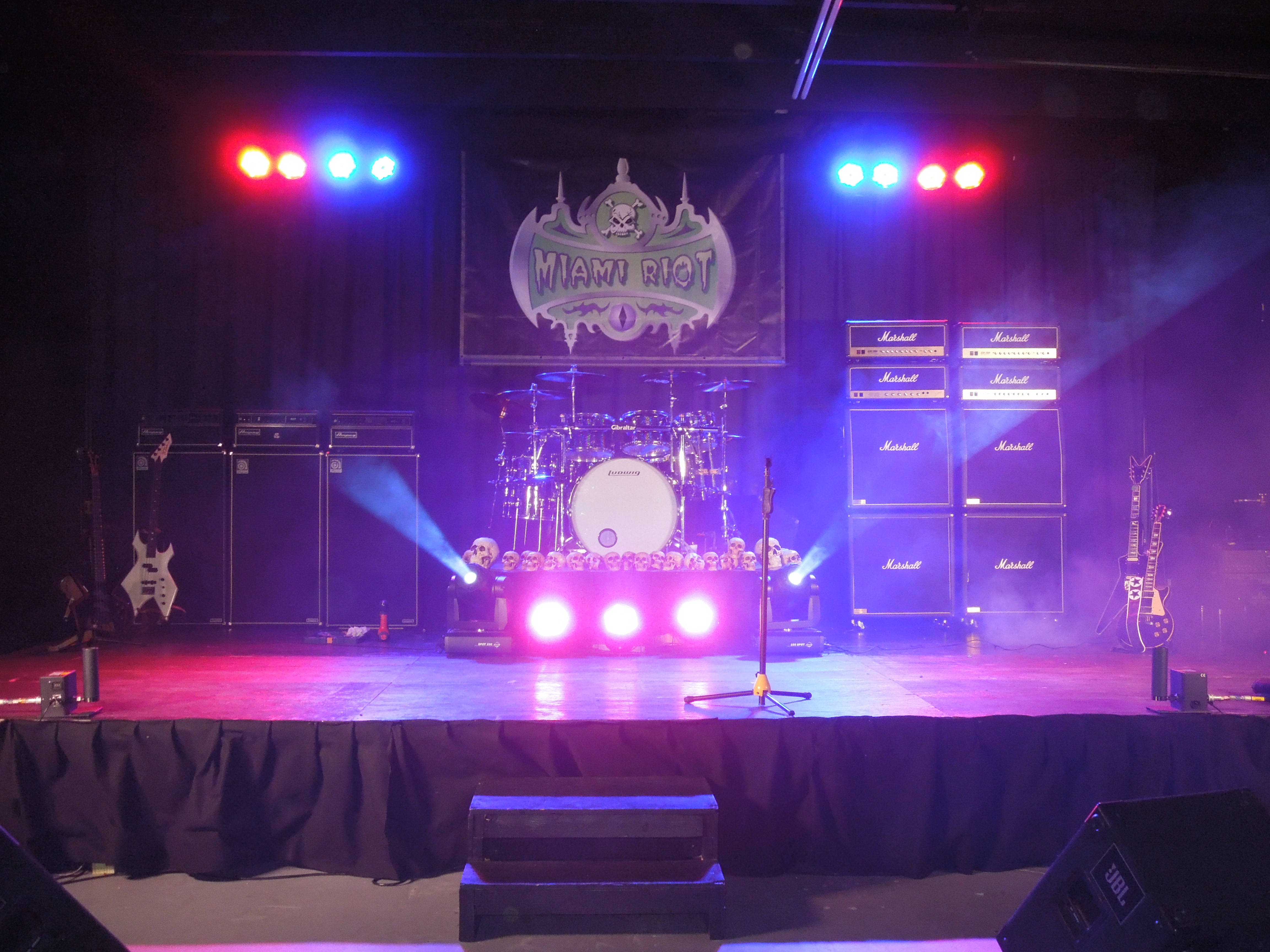 Concert Stage Backdrop