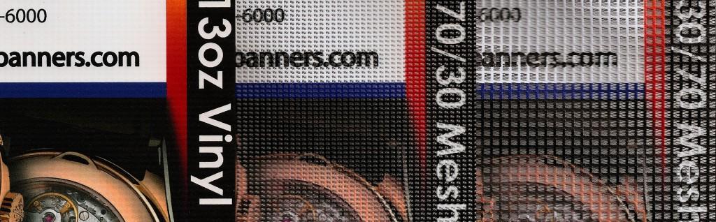 vinyl mesh banner comparison